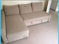 Beautifil Corner Sofa bed. Like New condition. Only £300. *Free Delivery and Free Assembly*