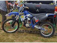 Yamaha Yz 250 2001 (not rm kx cr ktm)
