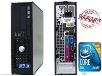 Dell OptiPlex 380 DUAL CORE 2.93 GHz 4GB DDR3 500 GB DVD-RW Windows 7