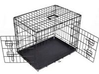 Pet transporter/cage (collapsible) [90cm wide x 62cm deep x 72cm tall]