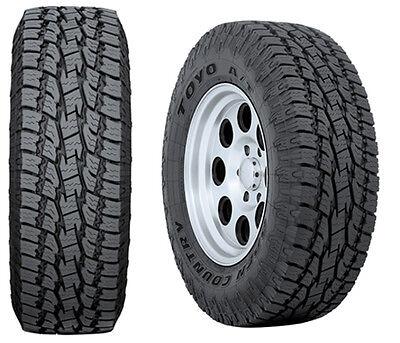 4 Lt 265 70 17 Toyo At2 10ply Tires 70r17 R17 70r All Terrain Truck