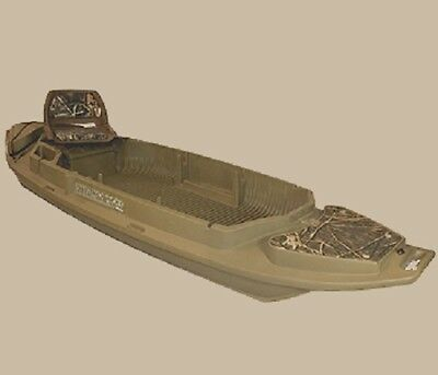 NEW 2000 Series Beavertail 400091 Stealth Marsh Brown Duck Hunting Boat