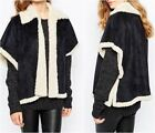 Shearling Polyester Coats & Jackets for Women