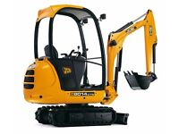 Mini Digger & Driver For Hire Coventry / Rugby