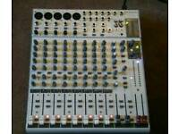 Phonic mixer with digital fx