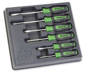 Snap-on Screwdriver Set Lime Green