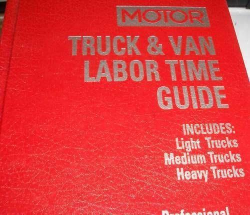 motor labor guide ebay