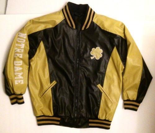 Notre dame leather jacket