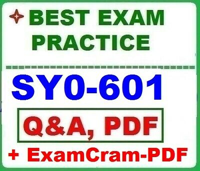 SY0-601-CompTIA Security+ - Best Exam Practice Q&A +  STUDY GUIDE
