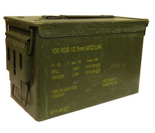 Metal Ammo Box | Military Collectables | eBay