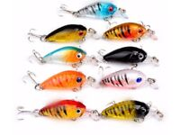 NEW - Fishing lures what give you results on Sea BASS etc;or fresh water fishes. Pike/Perch/Zander.