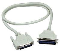 câbles de l'imprimante sur le port parallèle LPT IEEE 1284