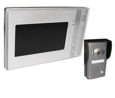 Video Gegensprechanlage LCD Display Türsprechanlage Klingel Glocke Sprechanlage