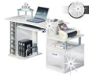 Computertisch Weiss