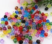 Acrylic Faceted Beads 6mm