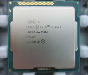 Intel® Core™ i5-3470 Processor  (6M Cache, up to 3.60 GHz)
