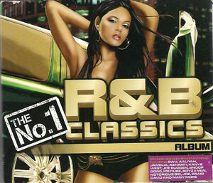 THE R&B NO 1 CLASSICS ALBUM 4 CD BRAND NEW IMPORTED FROM THE UK