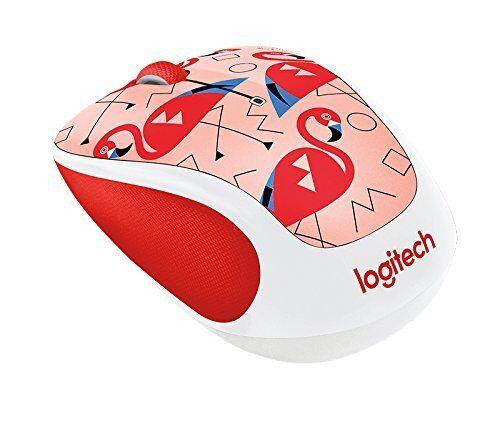 Logitech M238 Wireless Mouse Flamingo Full of Beauty Wonderful Gift Idea