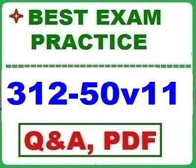312-50 v11 - Certified Ethical Hacker v11 -BEST EXAM Practice Q&A