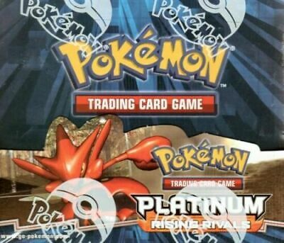 Pokemon Platinum Rising Rivals Factory Sealed Booster Box New Limited Edition S Pokemon Platinum Booster Box