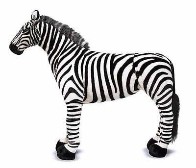 Melissa & Doug Zebra - Plush Stuffed Animal 2184