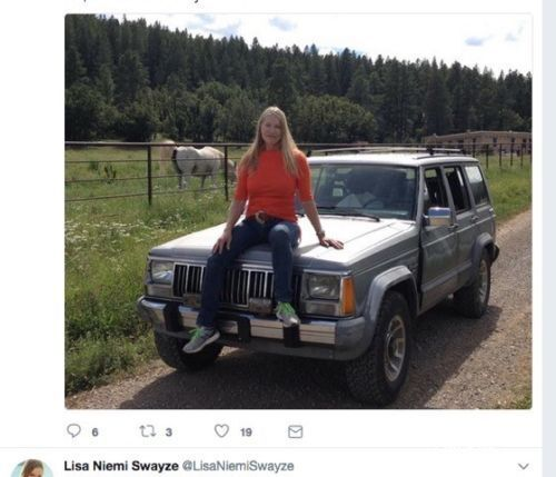 """1988 Jeep Cherokee  Patrick Swayze's 1988 JEEP For Sale """"No Reserve"""""""