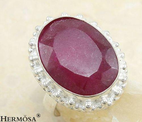 Vintage Ruby Red Ring Ebay