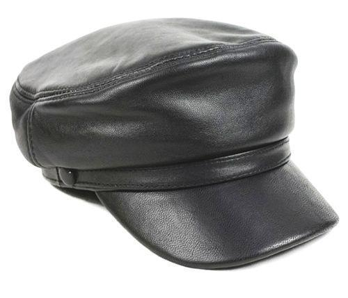 Leather Military Cap Clothes Shoes Amp Accessories Ebay