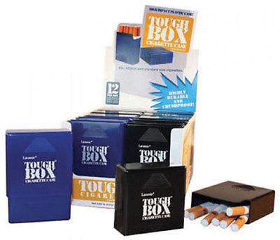 (3 Pack Laramie Tough Box Crush-Proof Plastic Cigarette Case King & 100s - 3201)
