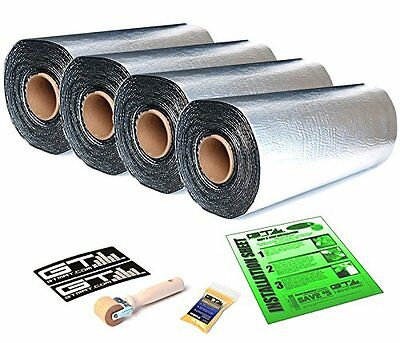 GTMAT Pro 50mil 40sqft Auto Sound Deadener MAT w/ DYNAMAT Xtreme Sample