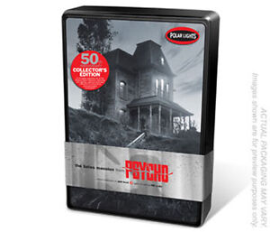 POLAR LIGHTS 854 -PSYCHO BATES MANSION 50th ANNIVERSARY TIN- 1:87 MODEL KIT NEW