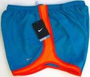 Womens Orange Nike Shorts