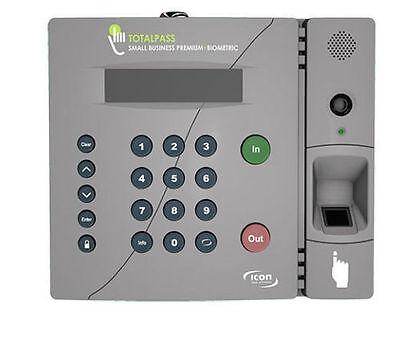 Totalpass Small Business Premium Biometric Time Clock Tp-bio New Authorized