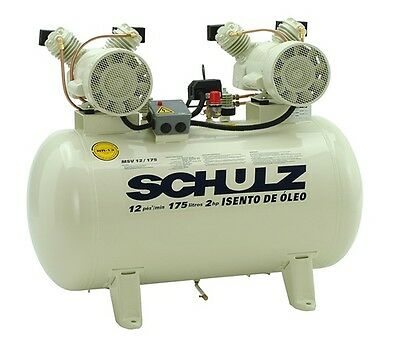 Schulz Compressor - Oil Free - 2hp 30 Gallons