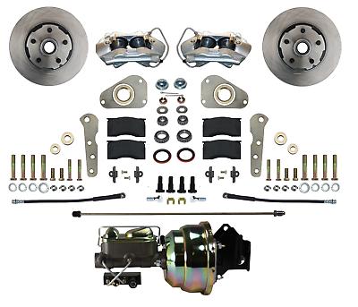 Ford Galaxie Front Disc Brake Conversion Kit -  Power Brakes