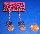 Betsey Johnson Chandelier Love & Hearts Fashion Earrings
