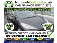 Peugeot 207 1.4 tive 5dr Good / Bad Credit Car Finance (black) 2011