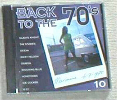 BACK TO THE 70s VOL. 10 sealed cd Stories Nelson Osibisa Shocking Blue 10 CC...