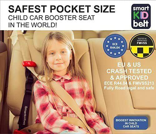 Smart Kid Belt® - Safest Pocket Size Booster Seat - Child Restraint System