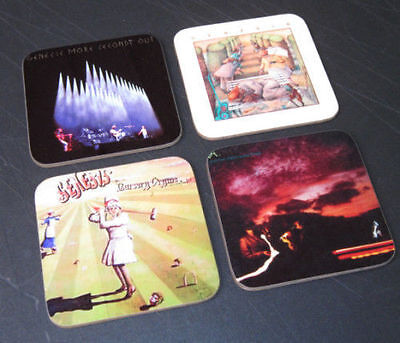 Genesis Phil Collins Album Cover COASTER Set #1
