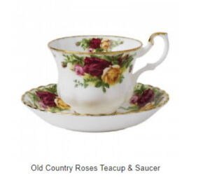 New List for Royal Albert Old Country Rose Vintage Fine China