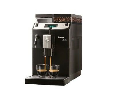 Saeco Lirika Coffee Kaffeevollautomat mit Gewerbezulassung Vollautomat Schwarz