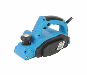 NEW 710W Electric Planer with Parallel and Rebate Guides Dust Bag