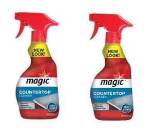 2 Pack Countertop Magic Company Surface Cleaner 14oz Liquid