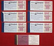 Disneyland Ticket Booklet