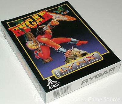 ATARI LYNX GAME CARTRIDGE: ########### RYGAR ########### *NEUWARE / BRAND NEW!