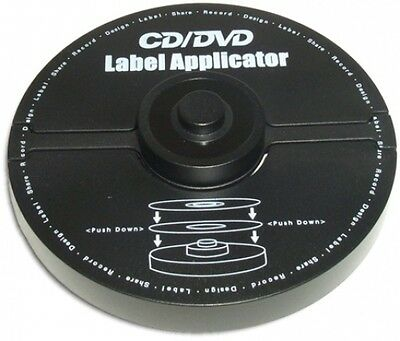 Cddvd Label Applicator For Easily Applying Labels