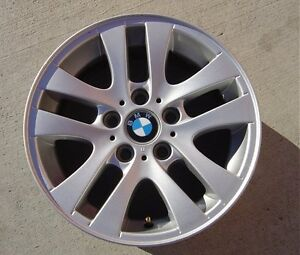 1-WHEEL-16-SILVER-OEM-BMW-3-SERIES-318I-323I-325I-328I-330I-335I-06-10-59580