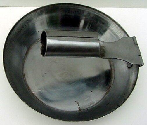 Folding skillet tin frying pan
