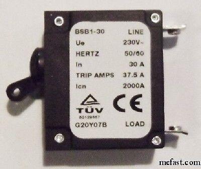 30 A Generator Circuit Breaker 37.5 Trip Amps